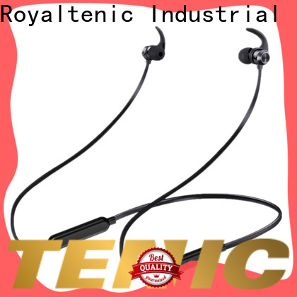 ROYAL TANIC sweatproof sports bluetooth headphones with mic for work