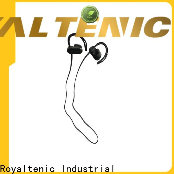 ROYAL TANIC long lasting sports bluetooth headphones promotion for phone