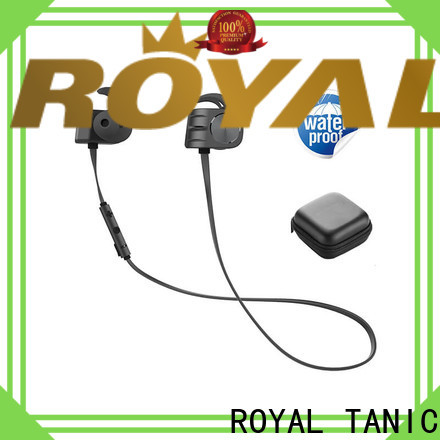 ROYAL TANIC magnetic bluetooth earphones easy to carry for outdoor sports