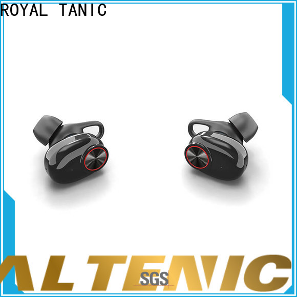 ROYAL TANIC efficient tws earbuds wholesale fro daily life