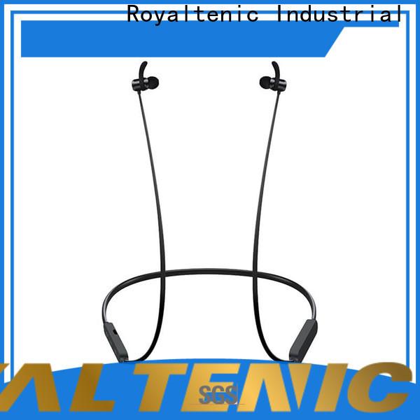 technical magnetic wireless earphones design for outdoor sports