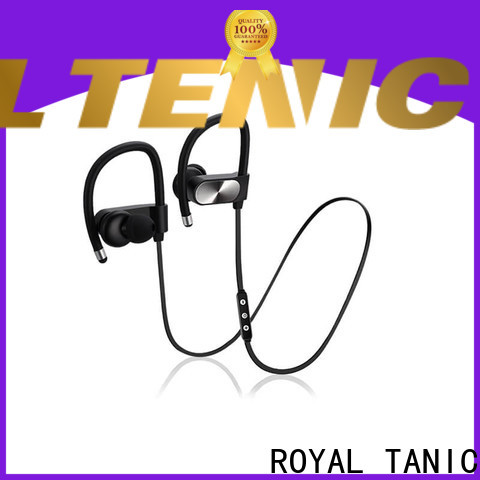 ROYAL TANIC durable gym headphones from China for gym