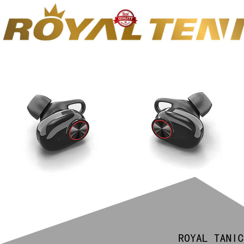 ROYAL TANIC realiable tws earbuds factory price for office