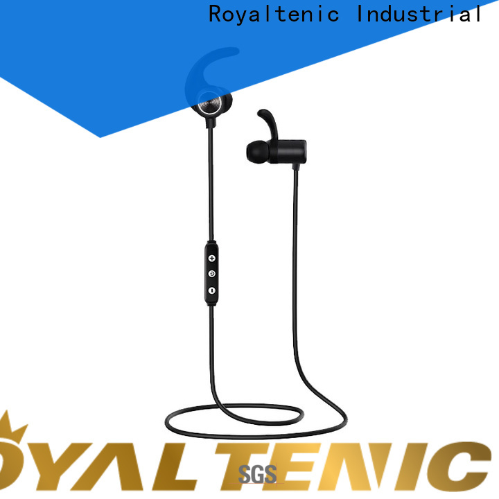 ROYAL TANIC sweatproof sports bluetooth headphones with mic for home