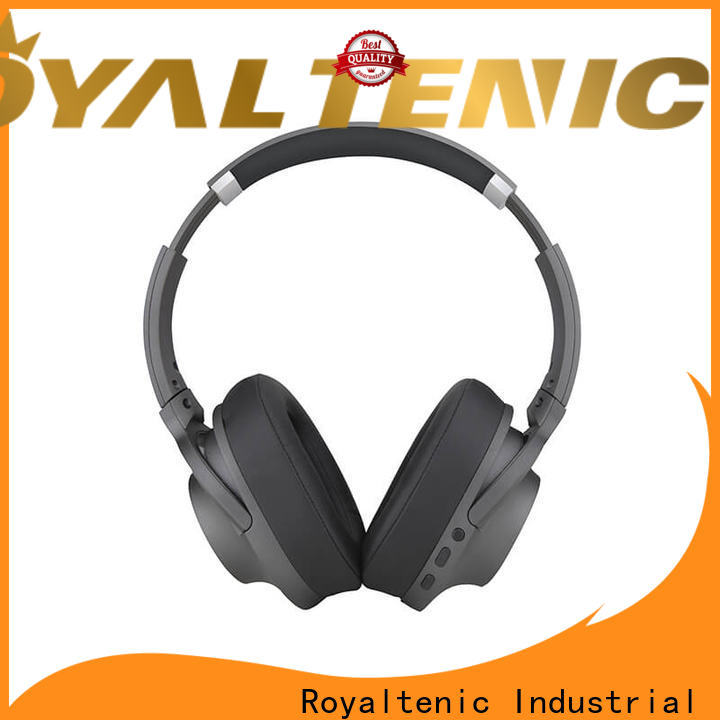 ROYAL TANIC anc bluetooth headphones with mic for home