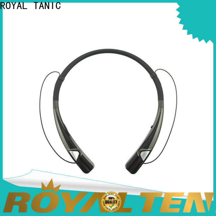 ROYAL TANIC comfortable magnet bluetooth headset from China for running