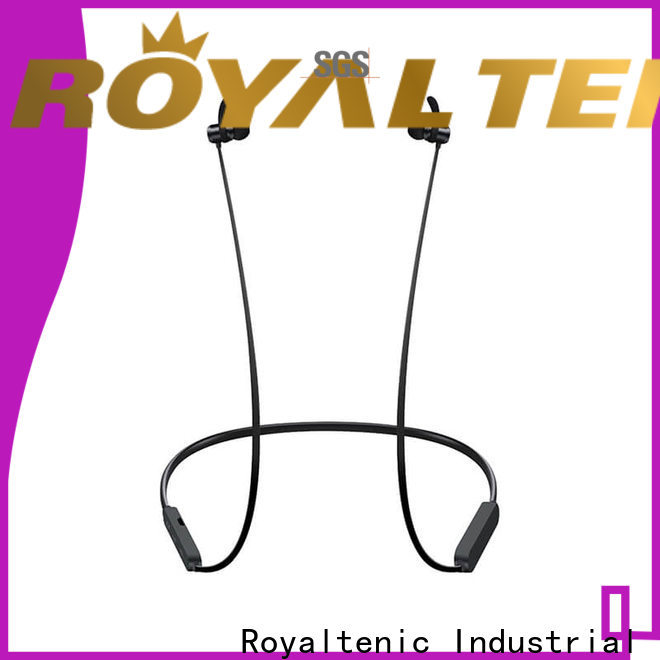 ROYAL TANIC high quality magnetic earphones design for outdoor sports