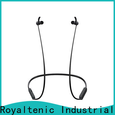 ROYAL TANIC popular magnetic bluetooth earphones easy to carry for hiking