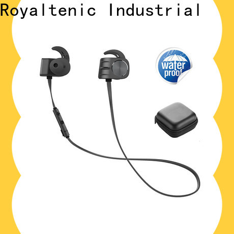 ROYAL TANIC technical magnetic wireless earphones from China for gym