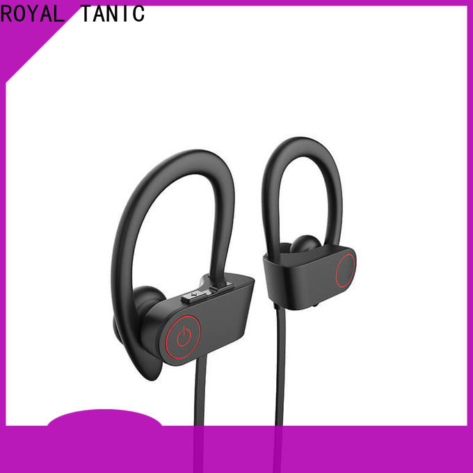 ROYAL TANIC waterproof bluetooth headphones from China for running