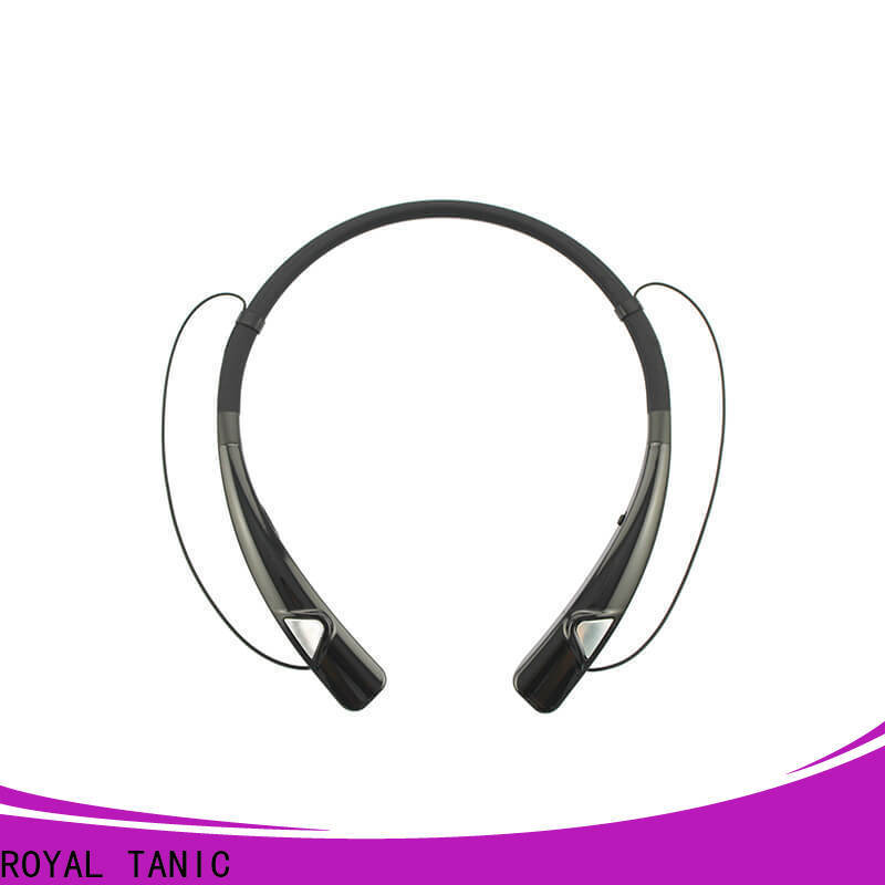 ROYAL TANIC technical magnet bluetooth headset from China for running