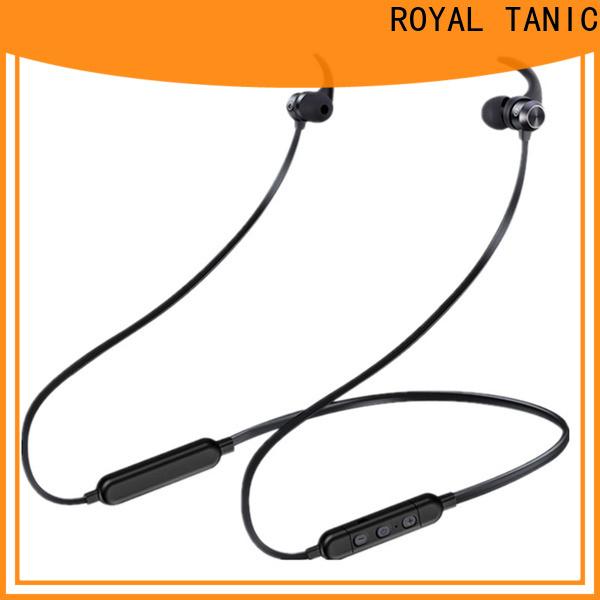 ROYAL TANIC good quality sports bluetooth headphones with mic for work