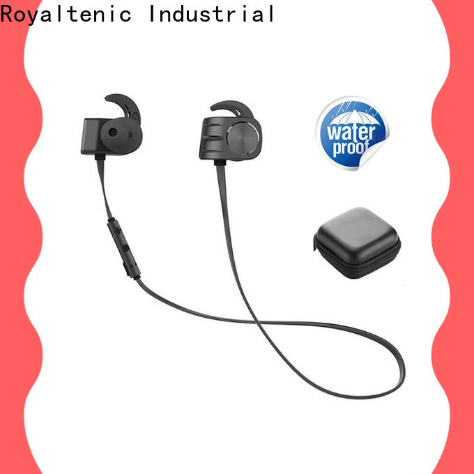 ROYAL TANIC high quality magnet bluetooth headset manufacturer for gym
