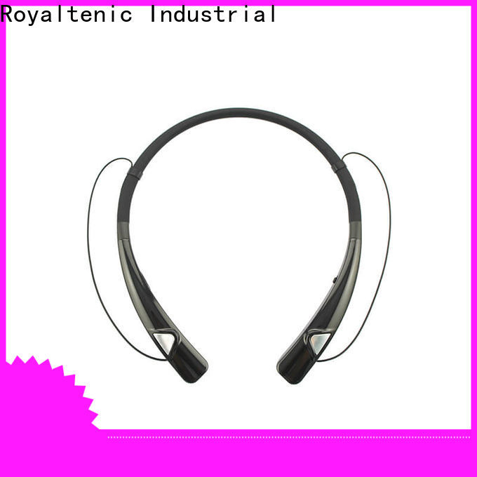 ROYAL TANIC magnetic bluetooth earphones easy to carry for hiking