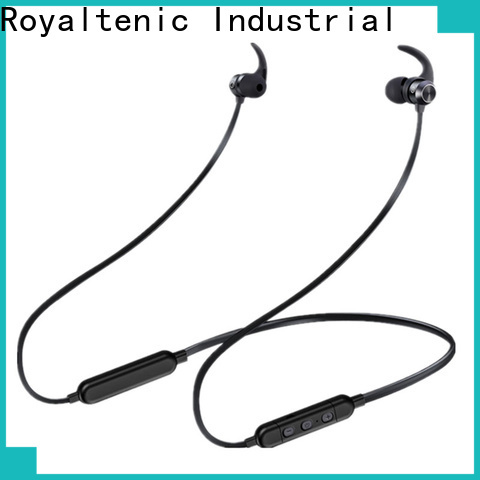 ROYAL TANIC long lasting sports bluetooth headphones promotion for work