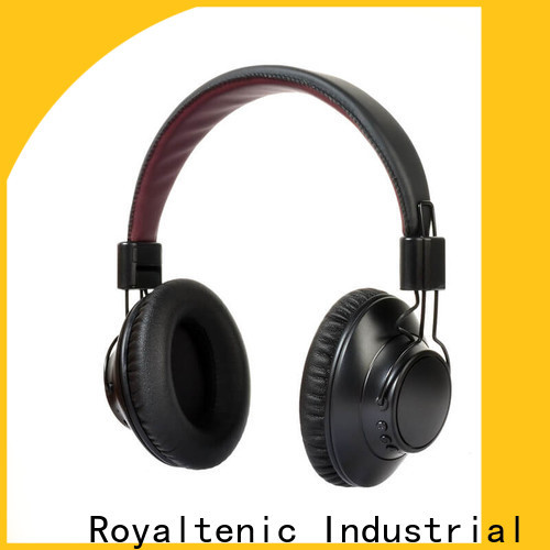 ROYAL TANIC durable noise isolating headphones promotion for home