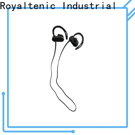 ROYAL TANIC sweatproof sports bluetooth headphones with mic for office