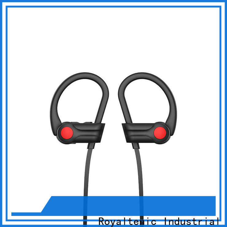 ROYAL TANIC long lasting sports bluetooth headphones from China for running