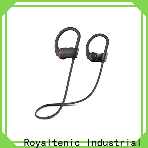 ROYAL TANIC durable running earphones from China for hiking