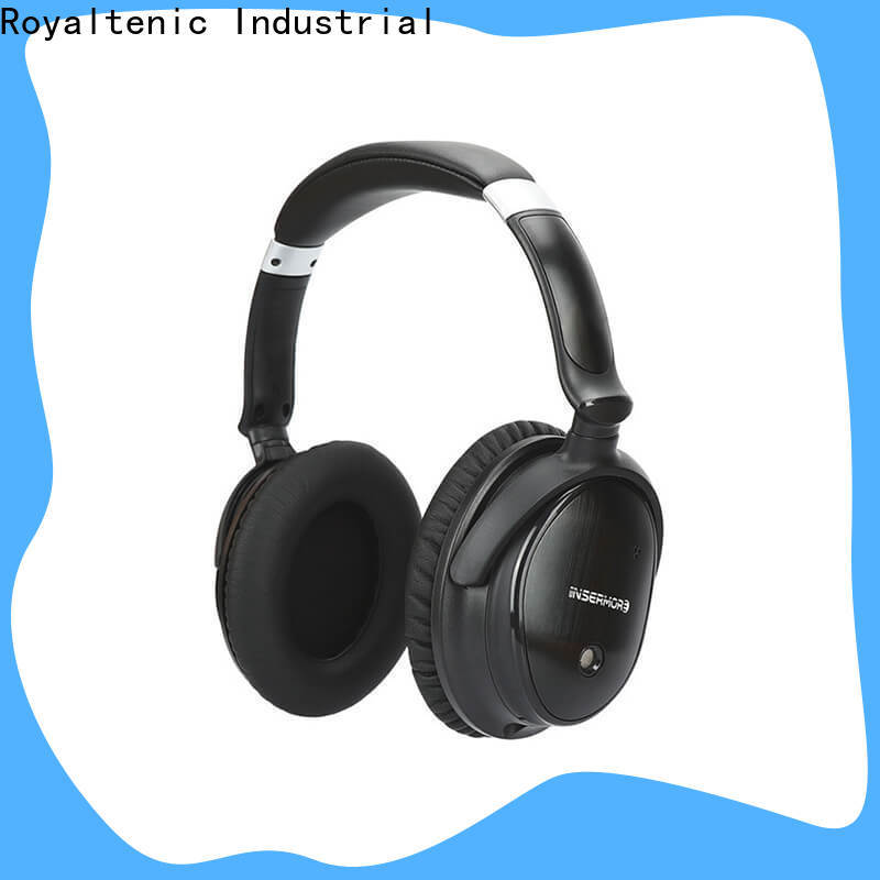 ROYAL TANIC wireless noise isolating headphones supplier for home