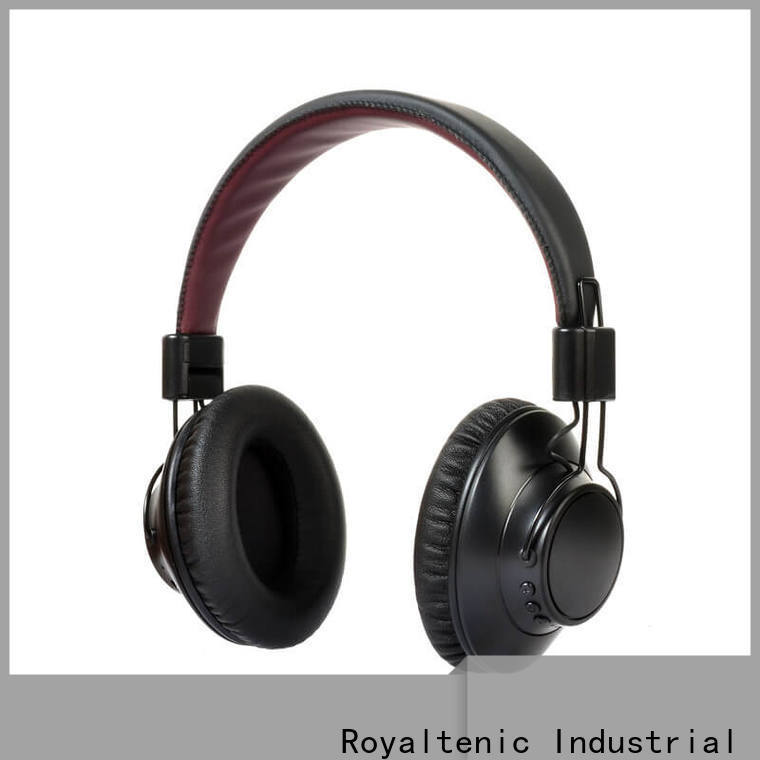 ROYAL TANIC anc bluetooth headphones on sale for trains