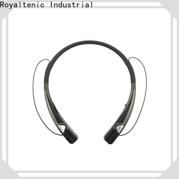 ROYAL TANIC magnetic earphones easy to carry for hiking