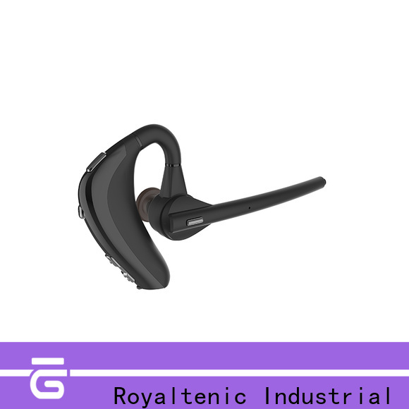 ROYAL TANIC long lasting waterproof bluetooth headphones from China for gym
