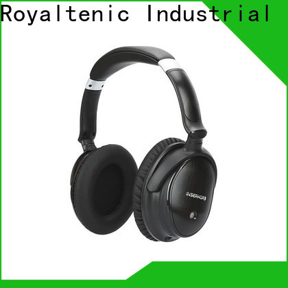 ROYAL TANIC wireless anc bluetooth headphones online for airplanes