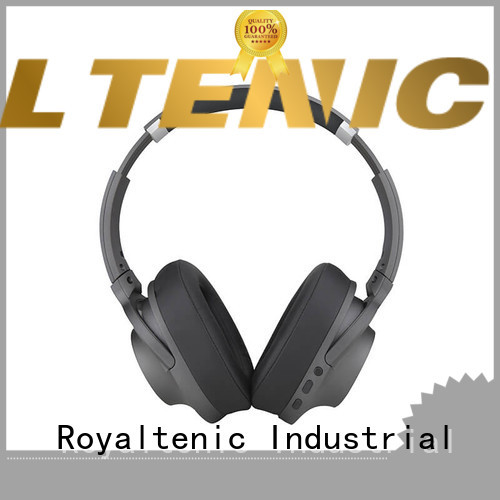 earbuds anc bluetooth headphones with mic for trains ROYAL TANIC