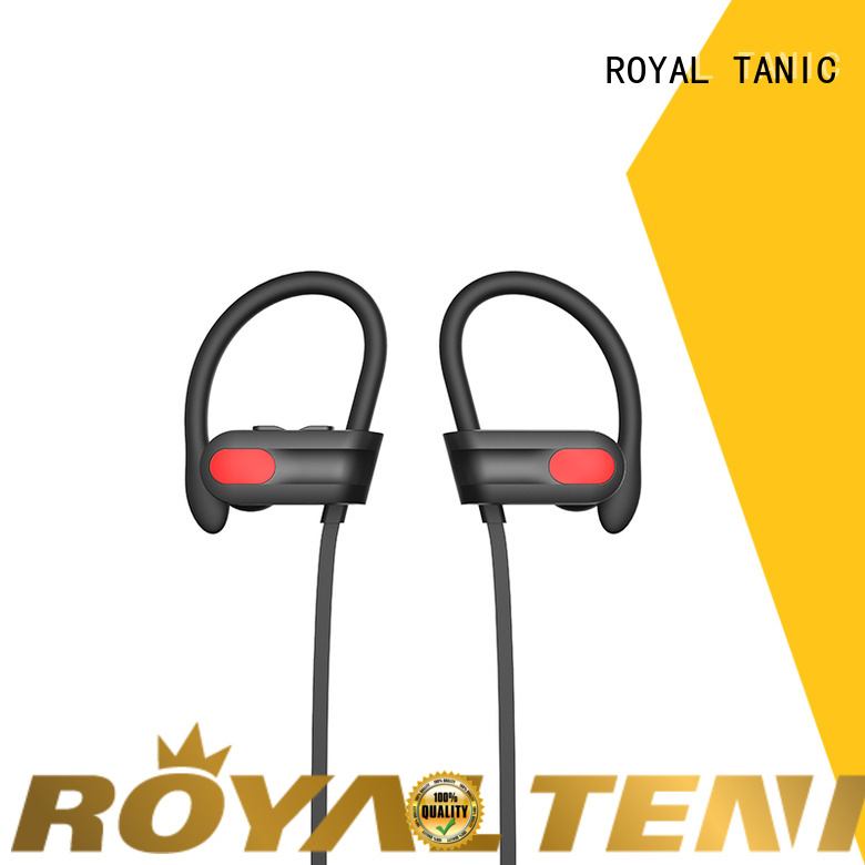 ROYAL TANIC waterproof waterproof bluetooth headphones from China for gym