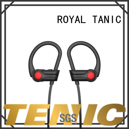 ROYAL TANIC car waterproof bluetooth headphones manufacturer for hiking