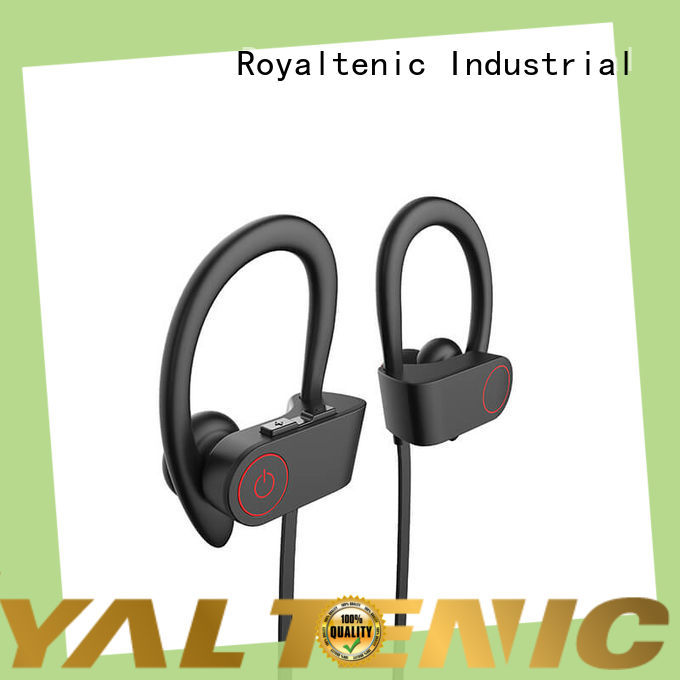 ROYAL TANIC long lasting sports bluetooth headphones from China for gym