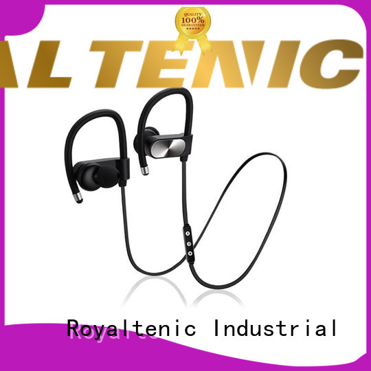 ROYAL TANIC mic sports earphones series for exercise