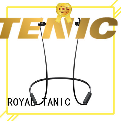 ROYAL TANIC magnet bluetooth headset from China for gym