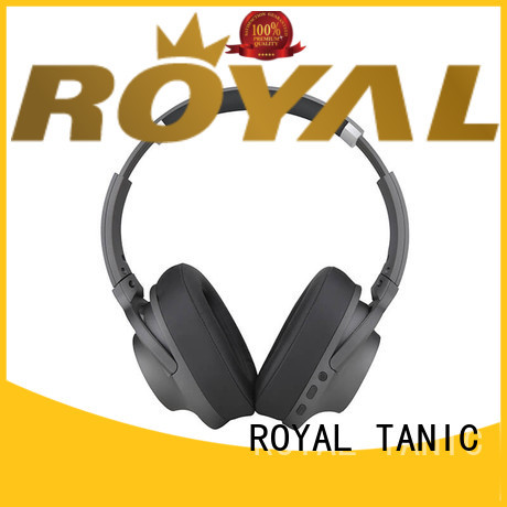 ROYAL TANIC active noise isolating headphones promotion for airplanes
