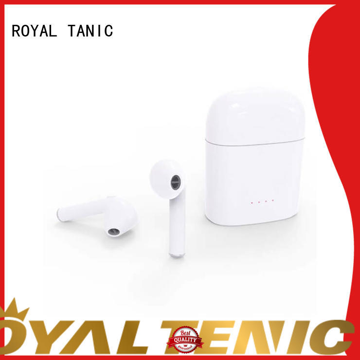 cordless bluetooth earbuds mobile for tv ROYAL TANIC