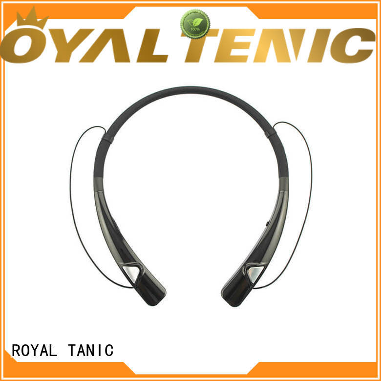 ROYAL TANIC sony magnetic wireless earphones design for hiking