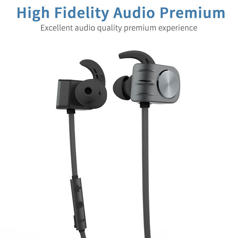 stable magnetic earphones factory price for hiking