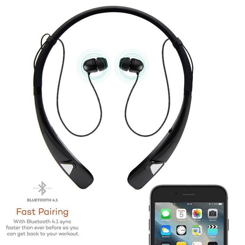 ROYAL TANIC magnetic bluetooth earphones from China for running