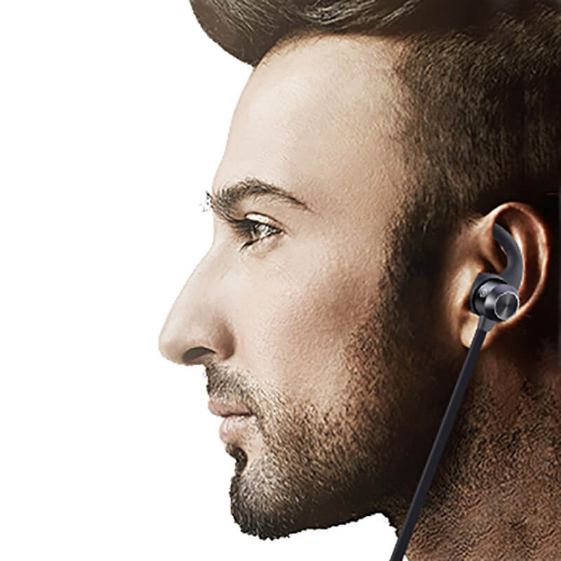 comfortable magnetic bluetooth earphones from China for hiking-4