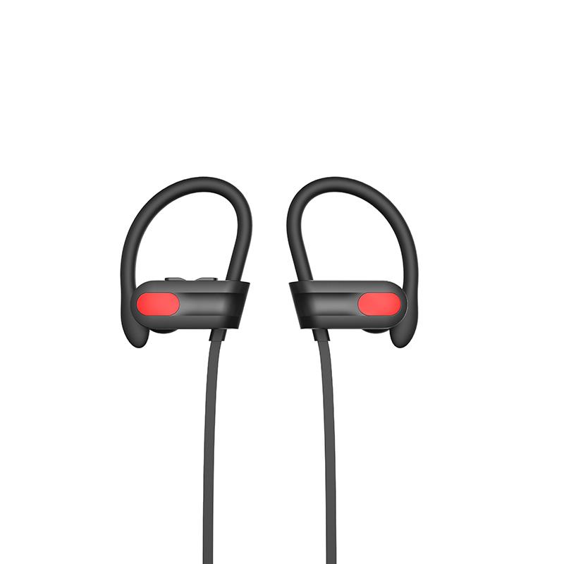 Best Wireless Sports Earphones W/Mic IPX7 Waterproof HD Stereo Sweatproof in Ear Earbuds Gym Running Workout 8 Hour Battery Noise Cancelling Headsets