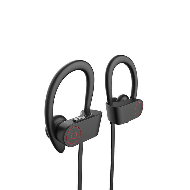 Bluetooth Wireless Headphones, Sports Earphones IPX7 Waterproof Sweatproof Musical Headsets Earbuds for Gym Running Noise Cancelling Headsets HiFi Headphones