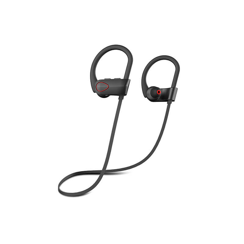 Bluetooth iPhone Headphones - Ear Buds Wireless Headphones - Designed for Running and Sport Workouts - Built-in Microphone with Noise Cancellation - IPX7 Waterproof