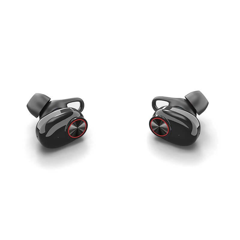 Hot selling mini earphone earbud headphone , sport earbuds with charging case