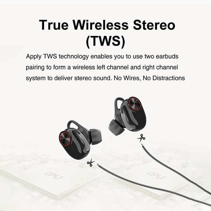 ROYAL TANIC sweatproof tws headphones supplier for tv