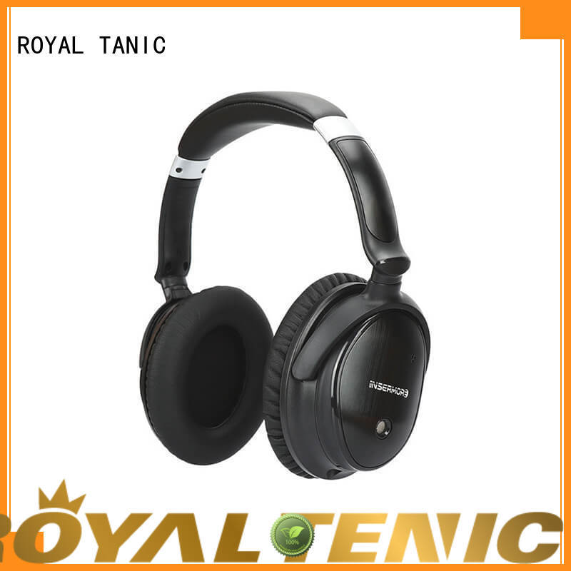ROYAL TANIC durable beats noise cancelling headphones promotion for airplanes