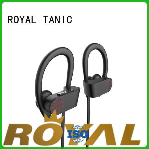 buy earphone sports bluetooth headphones wireless cancellation ROYAL TANIC company