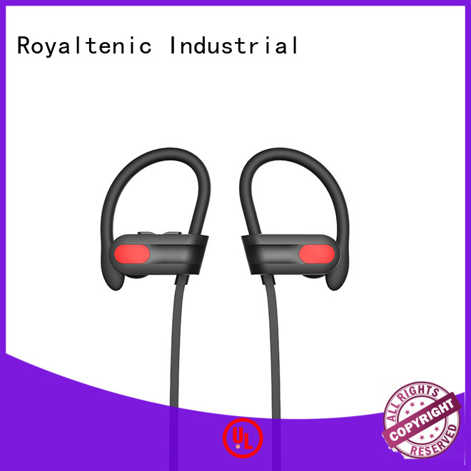 Quality ROYAL TANIC Brand best wireless headphones for gym microphone