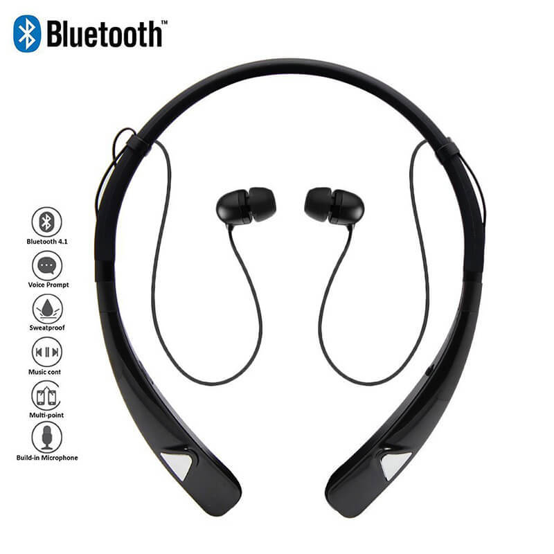 ROYAL TANIC headphones magnetic bluetooth earphones easy to carry for outdoor sports-1