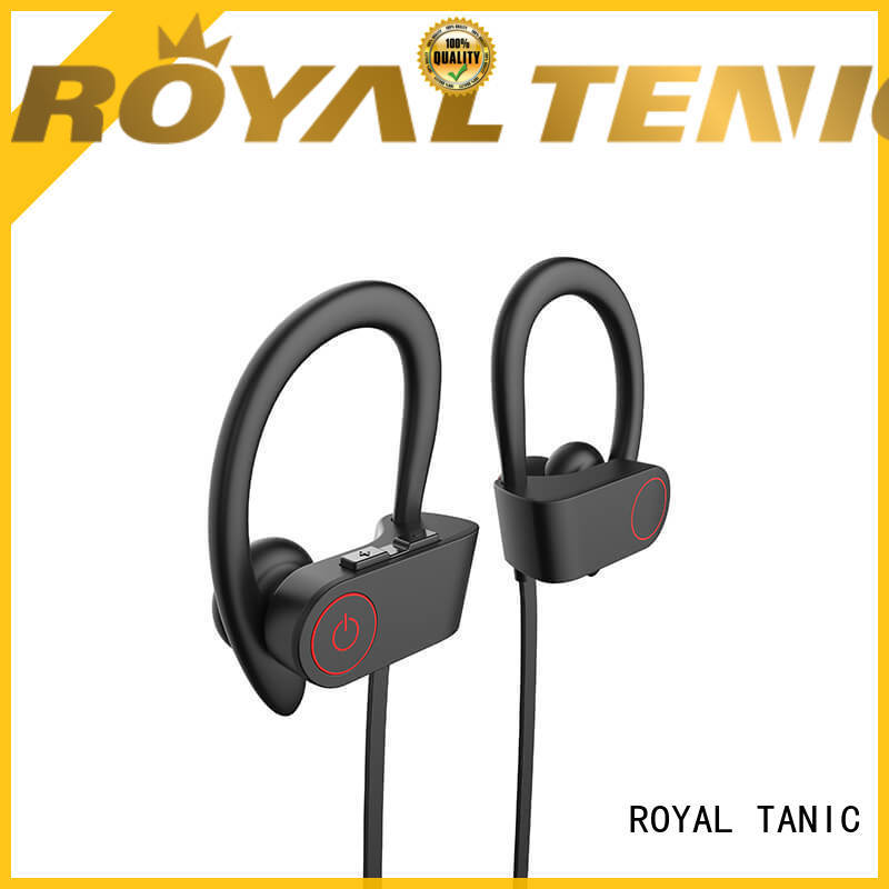 ROYAL TANIC hot selling gym headphones manufacturer for hiking